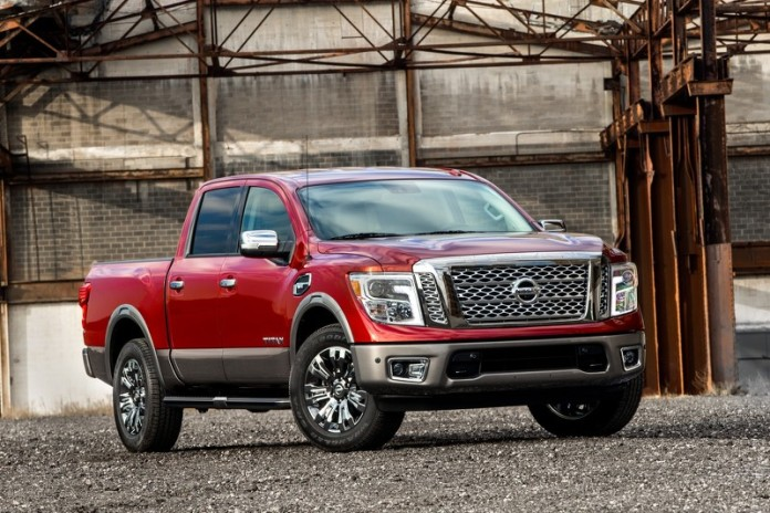Nissan TITAN is built on a separate chassis from TITAN XD, approximately 228.1 inches long (11.8 inches less than XD) and 79.5 inches wide (same as XD), with the cab size shared between the two vehicles.