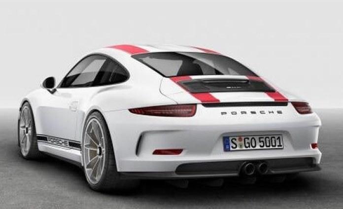 porsche-911r-back