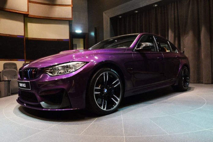 BMW M3 Purple (2)
