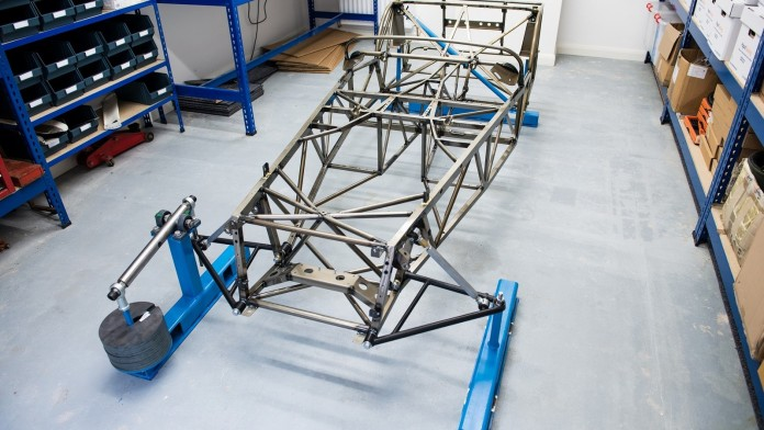 Caterham Seven new ultra-lightweight chassis (1)
