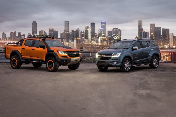 Chevrolet Colorado Xtreme and Trailblazer Premier concepts (1)