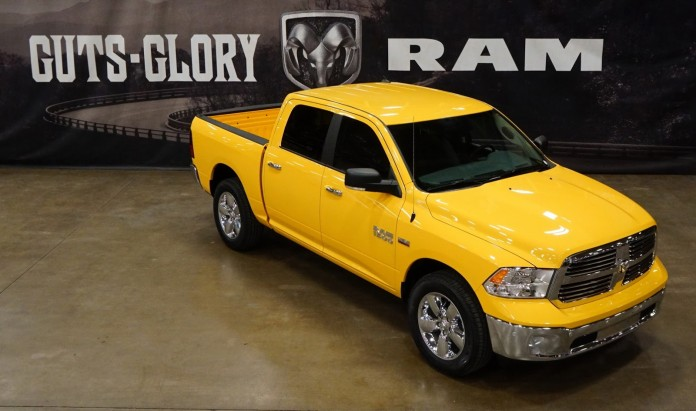 Ram 1500 Yellow Rose of Texas Edition (1)
