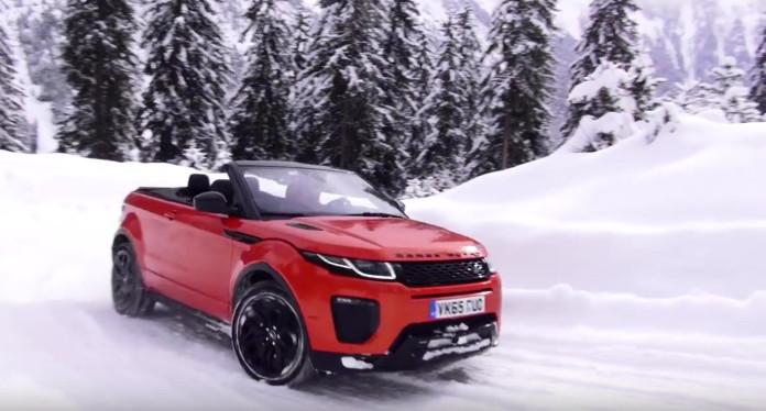 Range Rover Evoque Convertible review
