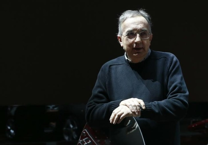 Chief Executive Sergio Marchionne