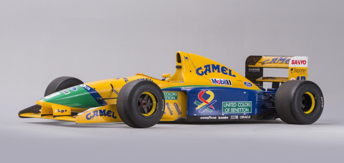 Michael Schumacher Benetton B191 in auction (1)
