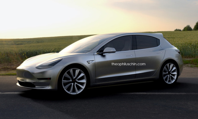 Tesla Model 3 Hatchback 1