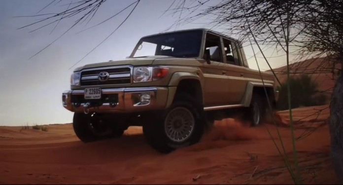 Toyota Land Cruiser NSV 6x6