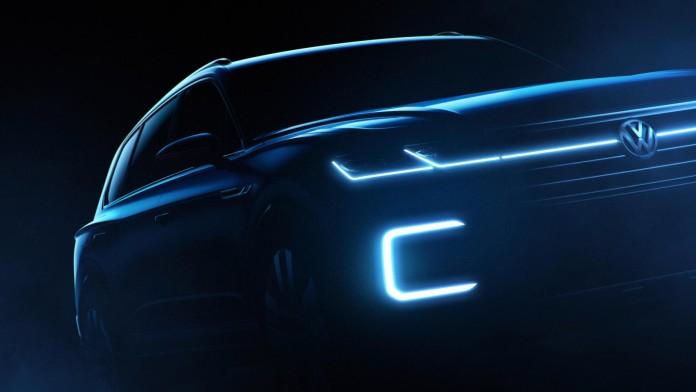 VW SUV teaser Beijing 2016 1