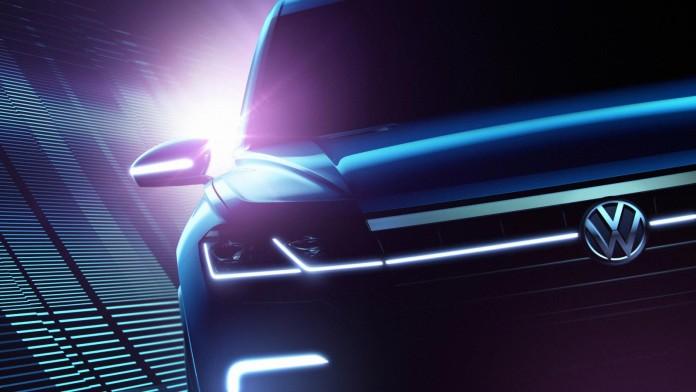 VW SUV teaser Beijing 2016 2