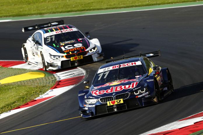#11 Marco Wittmann, BMW M4 DTM, #31 Tom Blomqvist, BMW M4 DTM