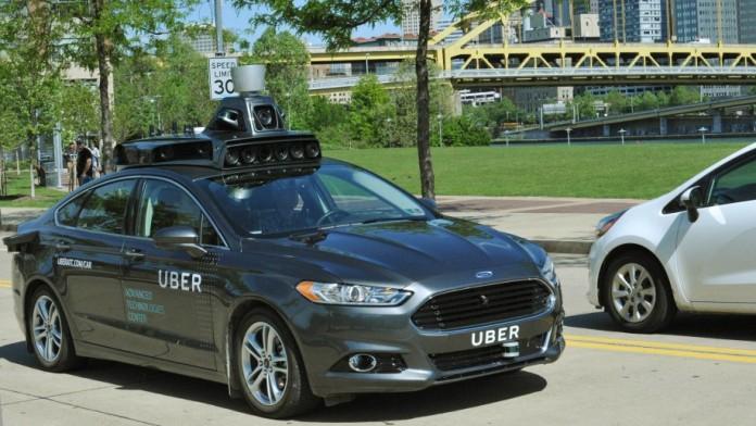 2016-ford-fusion-hybrid-uber-autonomous-car uber