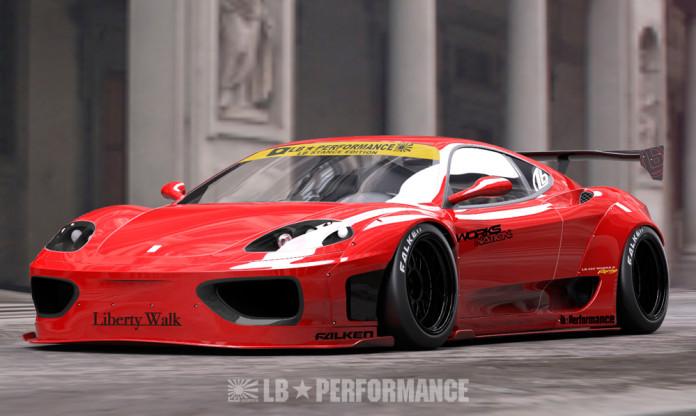 Ferrari 360 Modena Liberty Walk1