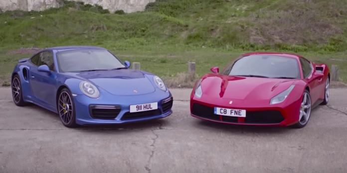 Ferrari_488_GTB_vs_Porsche_911_Turbo_S_