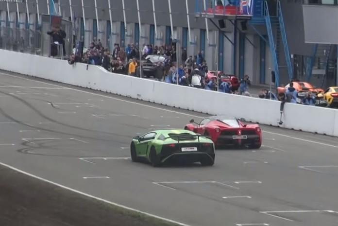 LaFerrari and Aventador SV