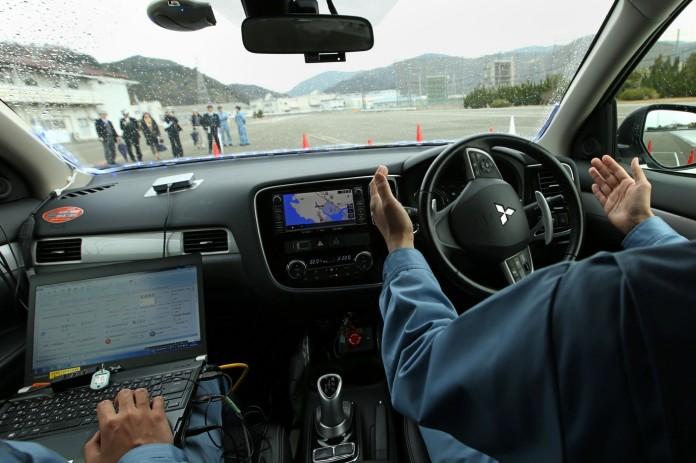 Mitsubishi-Autonomous