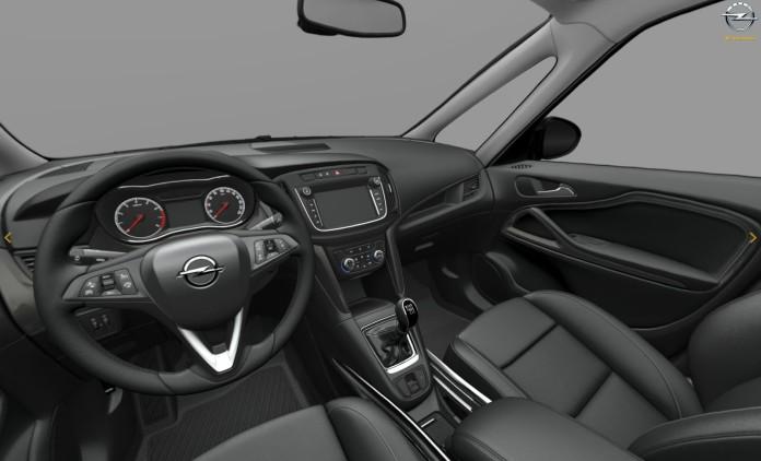 Opel Zafira facelift 2017 leaked photos (15)