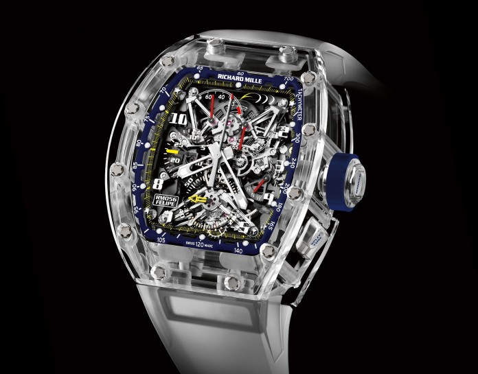 Richard Mille RM 056 Sapphire Felipe Massa 10th Anniversary 1