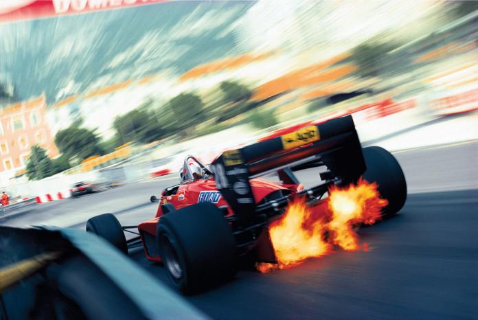 Stefan Johansson, Ferrari, Monte-Carlo, 1985