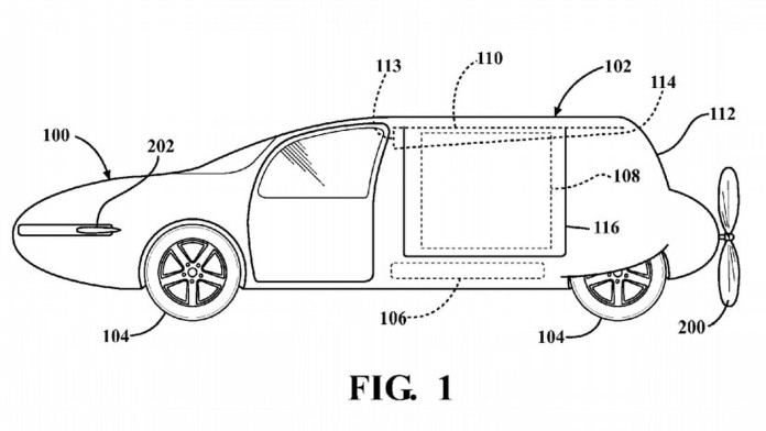 Toyota Flying Car Patent (3)