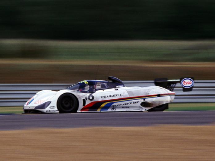 135 - 24 Heures du Mans 1991. Rosberg/ Dalmas/ Raphanel. Peugeot 905. Abandon