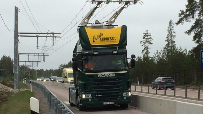 scania electric truck elvag