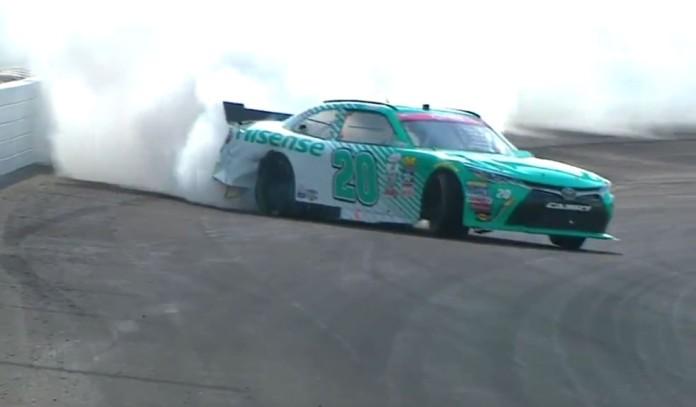 Erik Jones drift