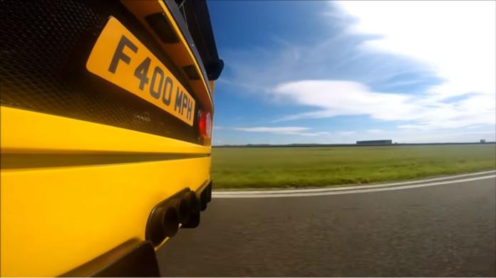 Ferrari F40 yellow col