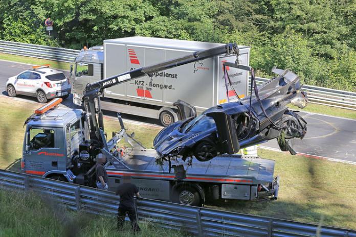 Koenigsegg One1 Nuburgring crash (12)