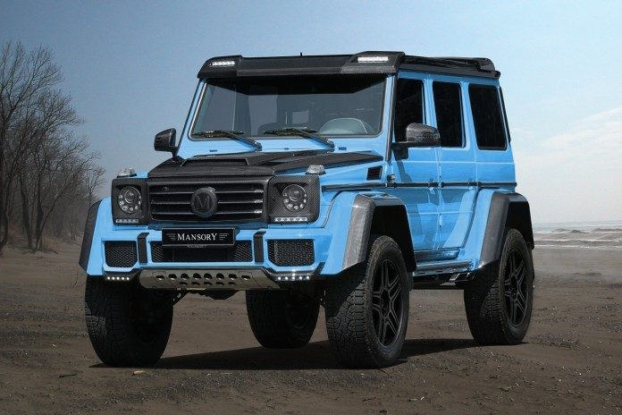 Mercedes G500 4x4 by Mansory (1)