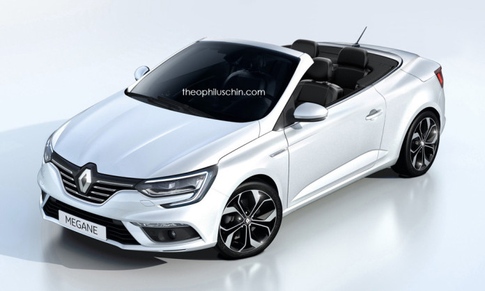 Renault Megane Cabriolet rendering (2)