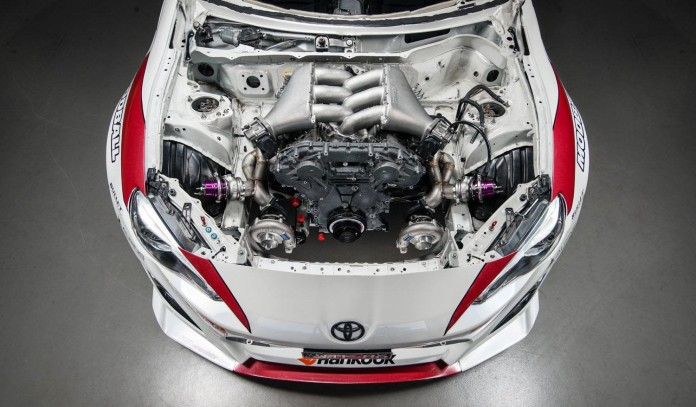 Toyota GT-86 with GT-R engine (3)