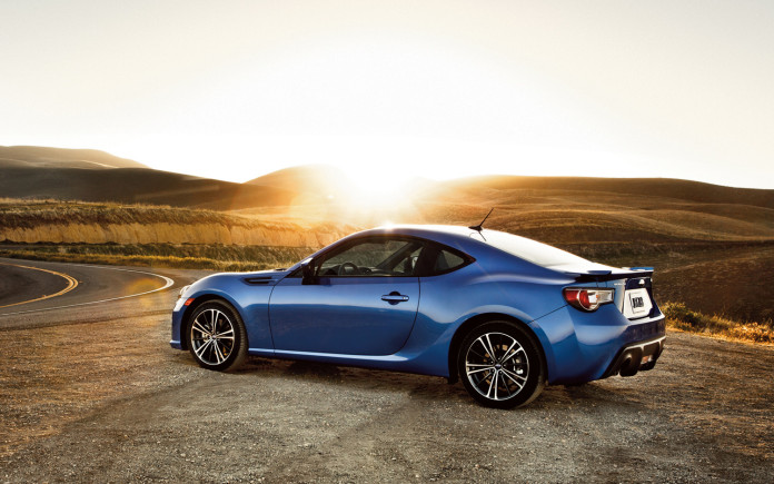 2013-Subaru-BRZ-left-rear