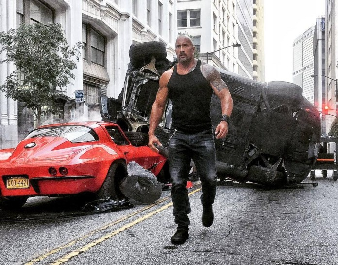 Fast-and-furious-8- Dwayne The Rock Johnson