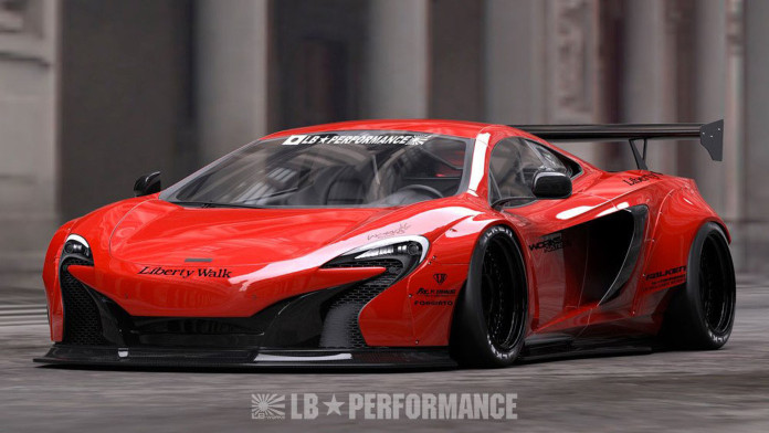 McLaren 650S by Liberty Walk