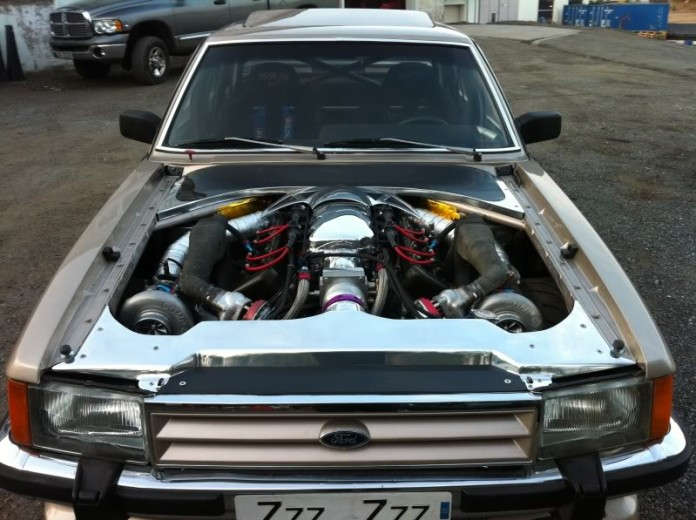 Ford Granada with Koenigsegg engine (5)