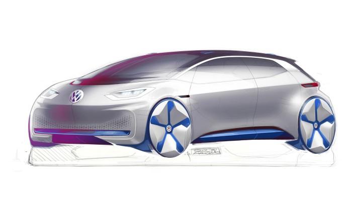 VW EV Concept teasers (1)