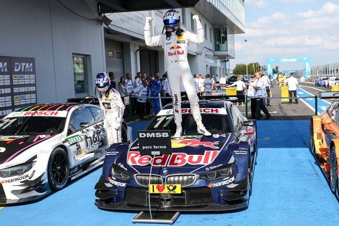 Motorsports: DTM race Nuerburgring, Saison 2016, - 7. Event Nuerburgring, GER, #11 Marco Wittmann (GER, BMW Team RMG, BMW M4 DTM)