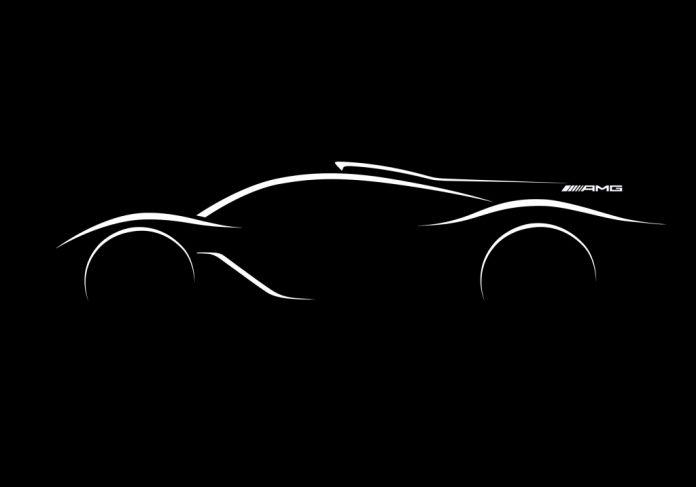 Mercedes-AMG hyper car Designskizze