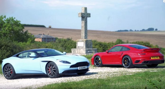 aston-martin-db11-and-porsche-911-turbo-s
