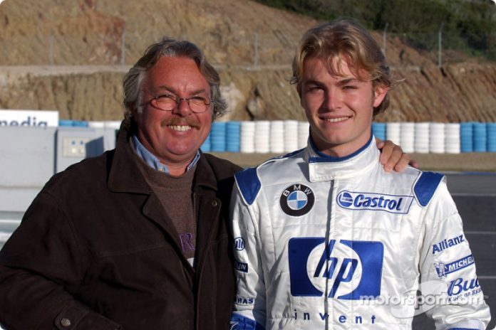 3rd December 2003. Jerez test Nico Rosberg © BMW Picture by John Townsend