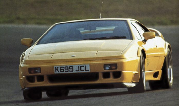 lotus-esprit-sport-300-yellow-front-side-corner