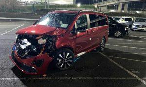 Ένας απολυθείς υπάλληλος της Mercedes κατέστρεψε 50 ολοκαίνουργια φορτωτές V-Class