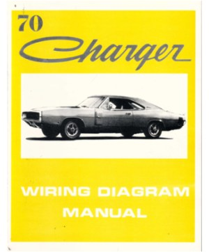 1970 DODGE CHARGER Wiring Diagrams