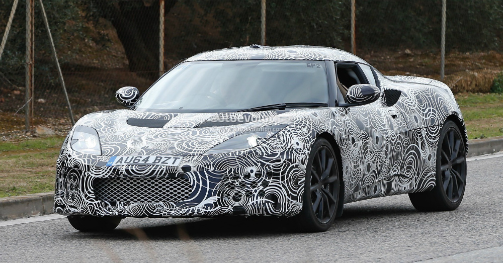 2016 Lotus Evora Spy Shot