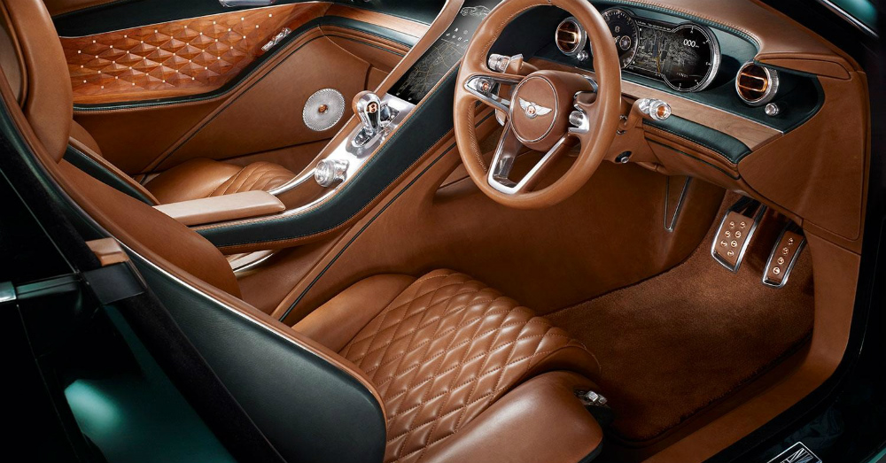 Bentley EXP 10 Speed 6 concept car Interior