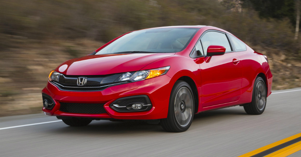 2015 Honda Civic Red