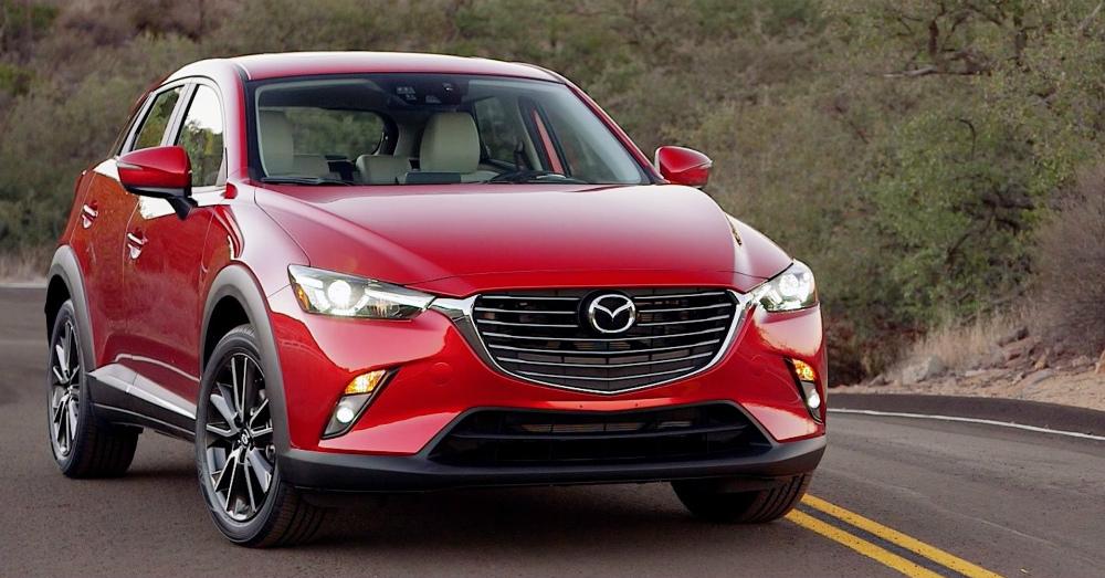 2016 Red Mazda CX-3