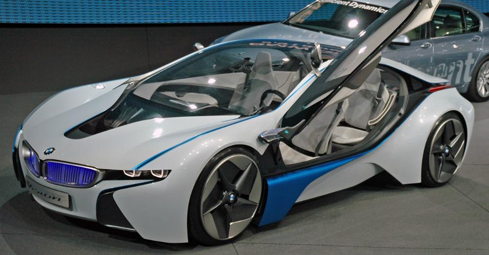 2016 Silver BMW i8