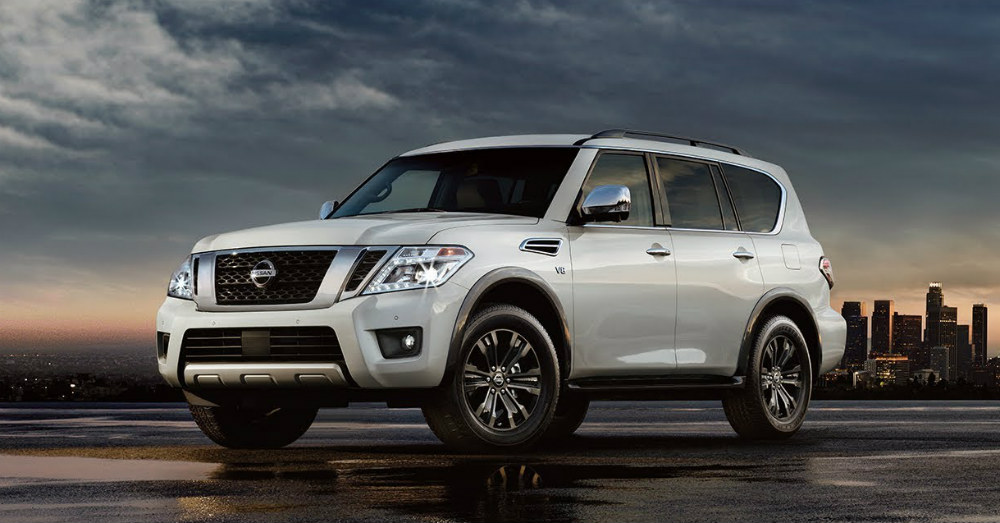 Step Up and Step Out in the Nissan Armada