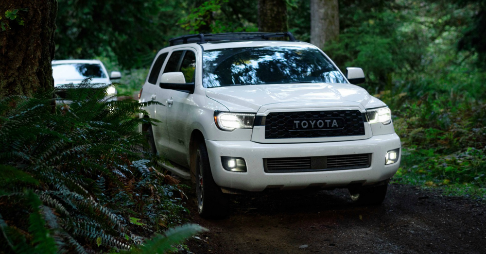 The Toyota Sequoia Arrives at the Chicago Auto Show